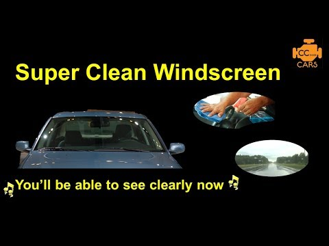 Super Clean Your Car Windscreen - Smooth & Smear Free Wiper Action