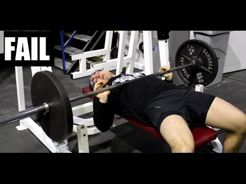 How to Safely Bench Press HEAVY Alone (Without a Spotter)