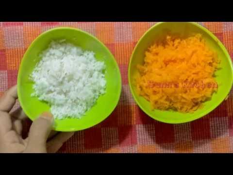 CARROT PUTTU -  KERALA STYLE CARROT PUTTU - Recipe Video 440