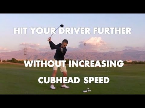 Low Spin Driver For Maximum Distance