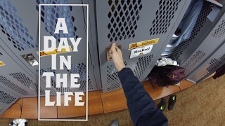 DAY IN THE LIFE OF A STUDENT ATHLETE (GoPro edition) - Mitch Hex