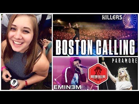CONCERT DIARIES: BOSTON CALLING 2018 (THE KILLERS, PARAMORE, EMINEM & MORE)