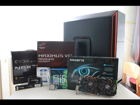 How to build a Gaming PC - Skylake, Asus Maximus VIII Ranger, Hyperx, Nvidia GTX, BeQuiet