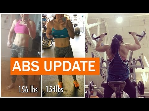 Abs Workout Update & How To Do A Pull Up If You Can't