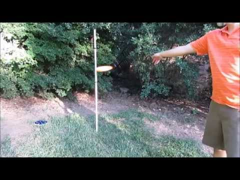 Homemade Disc Golf Target, by Disc Golf Family