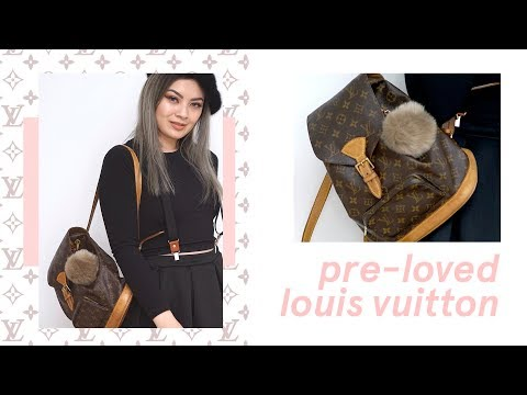 Tokyo Second hand designer shops ✨ My First Pre-Loved Louis Vuitton Montsouris in Japan