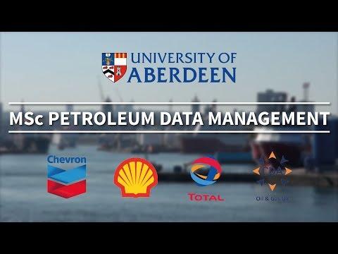 MSc Petroleum Data Management