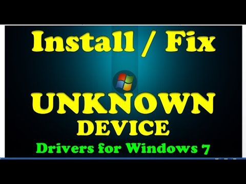 How To Fix Unknown device driver problem in Windows 7/ 8/ 8.1/ 10 ✔ |Works 100% |  Get Smart