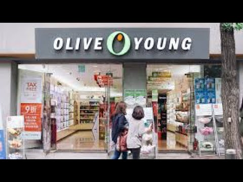 OLIVE YOUNG SHOPPING VLOG