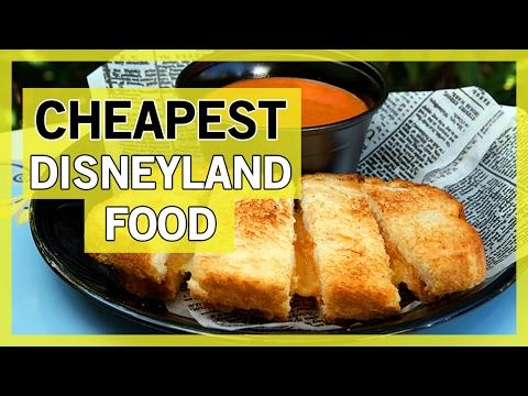 CHEAP Disneyland Food!