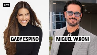 INSTAGRAM LIVE - GABY ESPINO & MIGUEL VARONI