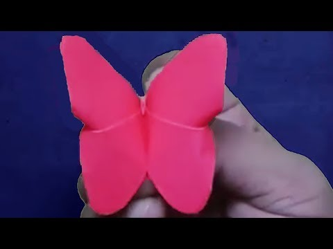 Origami Butterfly@How to make paper butterflies step by step? DIY origami tutorial.