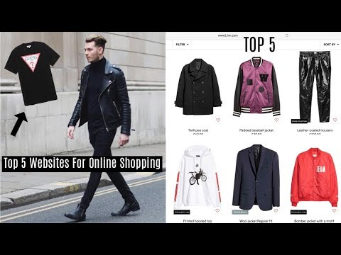 TOP 5 WEBSITES TO SHOP ONLINE FOR MENS STREETWEAR - Fashion 2017