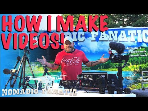 Behind the Scenes - How I Make A YouTube Video