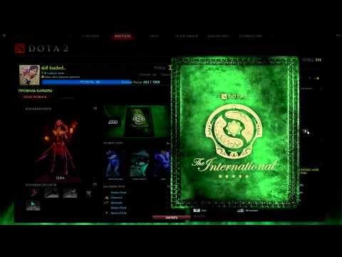 Activation DOTA 2 cards player / The international 3
