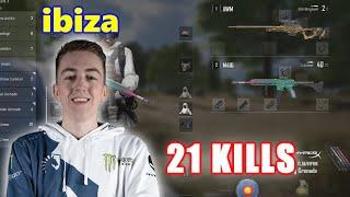 Team Liquid ibiza - 21 KILLS -  M416 + AWM - SOLO - PUBG