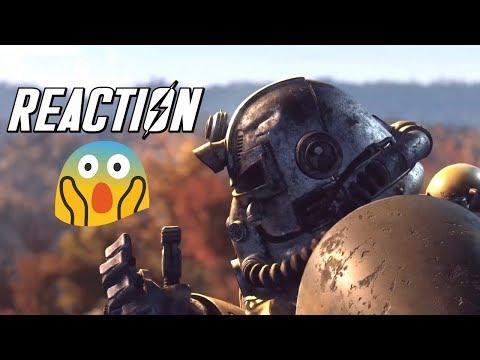 Fallout 76 New E3 Trailer Reaction