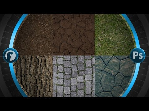 How To Make Seamless Textures | Photoshop Tutorial