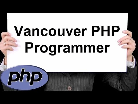 Vancouver PHP Programmer 888-411-2221 - Professional PHP Programming