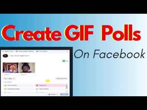 How To Create GIF Polls On Facebook