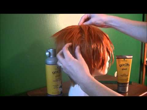 Ichigo Wig Styling