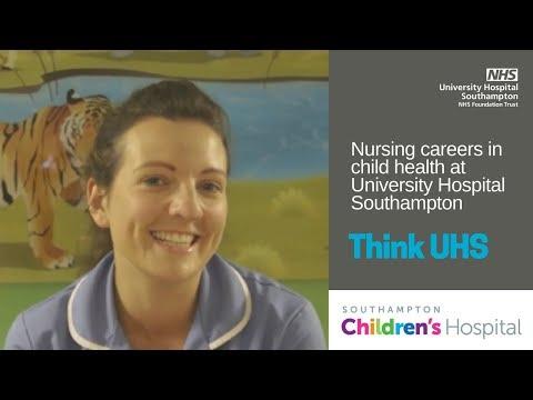 UHS Jobs | Ginette's route into children's nursing