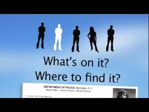 Free Criminal Background Checks SCAMS - Remove Criminal Record online