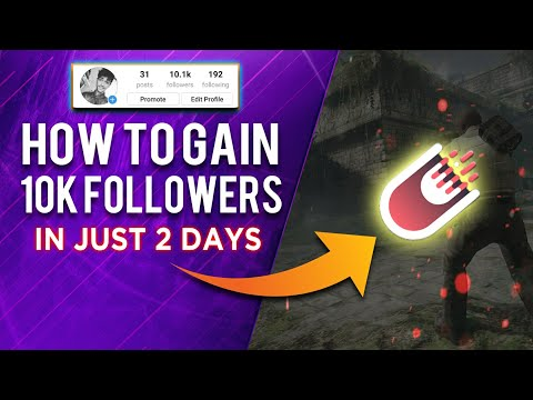 How To Increase Followers Upto 10k In 2 Days On Instagram Without Following Anyone!! 100% Working
