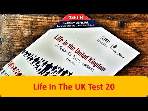 Life In The UK Test 20