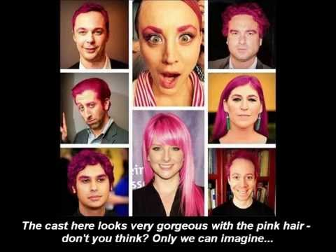The Big Bang Theory in Belarus - Kaley Cuoco's Pink Hair and Eyebrows (A Parody)