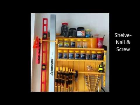 Wood Work Project 4 - Tool Organizer