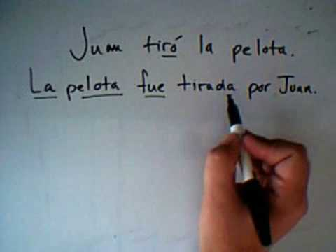 Passive Voice in Spanish