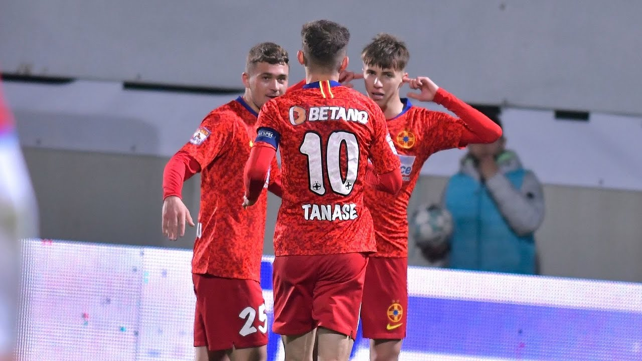 REZUMAT | FCSB - FC Botoșani 2-1. Octavian Popescu a marcat un super gol