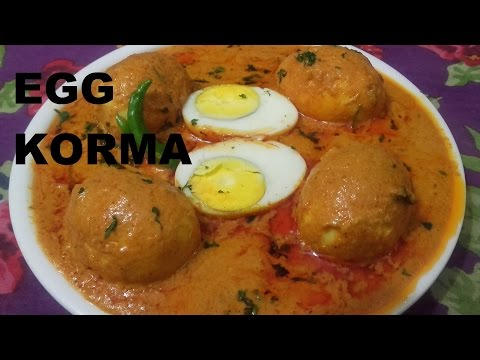 Tasty Restaurant Style Egg Korma Recipe/Egg Korma in Hindi with English Subtitles/ Egg Curry Recipe/