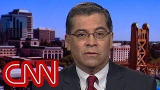 California AG: Trump 'essentially stealing' money to build border wall