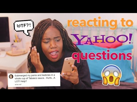 RESPONDING TO CRAZY YAHOO ANSWER QUESTIONS!