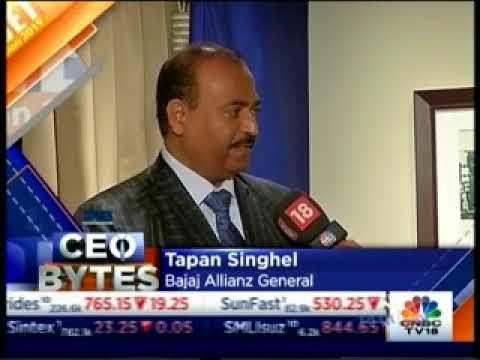 Mr Tapan Singhel on CNBC CEO Bytes