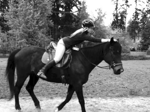 Develop your balance on horseback