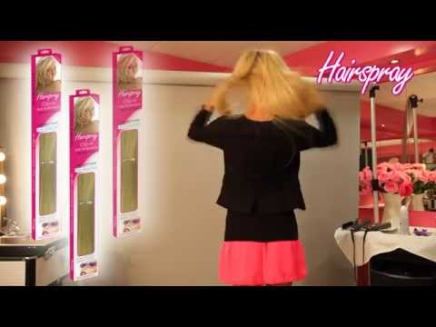 Hairspray Clip-in Hair Extensions