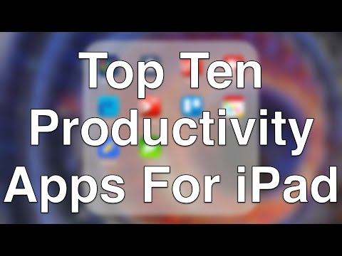 Top Ten Productivity Apps For iPad