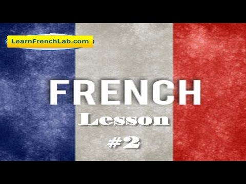 French lesson 2: How to ask and how to say your name in French