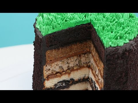 5 LAYER EARTH CAKE - NERDY NUMMIES