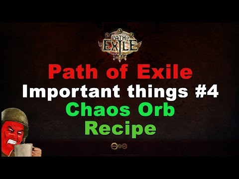 Chaos Orb Recipe (Path of Exile Important Things #4)