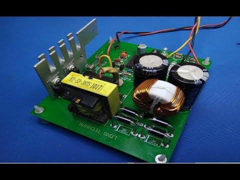 HANDMADE CAR AMPLIFIER CIRCUIT SG3525 DC TO DC CONVERTER 12V to +- 30V