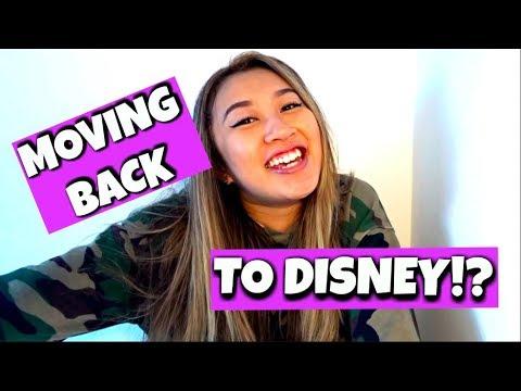 MOVING BACK TO DISNEY!? | Disney Professional Internship 2018