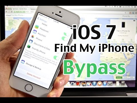 How To Bypass Find My iPhone iOS 7 - MAJOR New iCloud Security Flaw On iPhone, iPad & iPod
