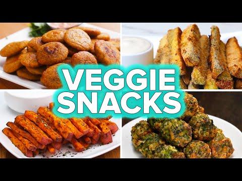 Veggie Snacks 4 Ways