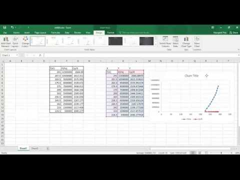 Secondary axis in EXCEL graph