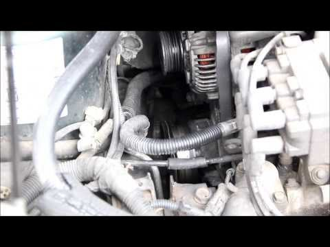How to change a serpentine belt on a Dodge Caravan, Voyager and Town & Country