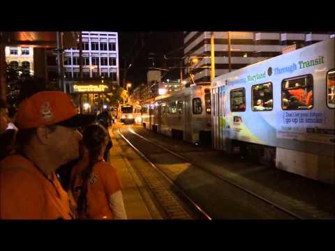 2014 09 14 Baltimore Light Rail Camden Yard station
